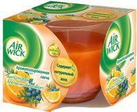 "Ароматизированная свеча Air Wick ""Анти-табак. Апельсин и бергамот"" (115 г)"
