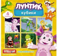 """Кубики с картинками """"Лунтик"""" (4 шт)"""