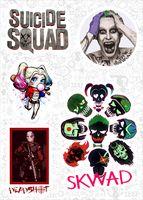 """Набор виниловых наклеек №587 """"Suicide Squad"""""""
