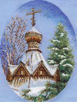 """Вышивка крестом """"Белый снег"""""""