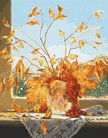"""Картина по номерам """"Осенний букет с рябиной"""" (400х500 мм)"""