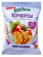"""Снеки цельнозерновые """"Dr. Korner. Со вкусом томата и базилика"""" (50 г)"""