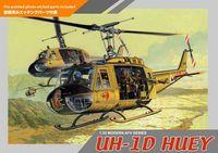 """Сборная модель """"Вертолет UH-1D Huey"""" (масштаб: 1/35)"""