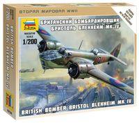 Британский бомбардировщик Бристоль Бленхейм Mk-IV (масштаб: 1/200)