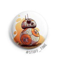 """Значок маленький """"BB-8"""" (арт. 899)"""