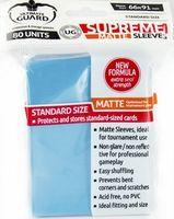 """Протекторы """"Supreme Matte"""" (66х91 мм; 80 шт; голубые)"""