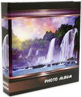 """Фотоальбом """"Waterfalls"""" (500 фотографий; 10х15 см; фиолетовый)"""