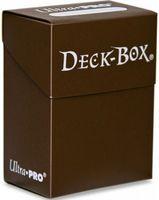 """Коробочка для карт """"Ultra-Pro"""" (80 карт; коричневая)"""