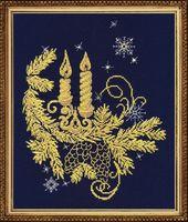 """Вышивка крестом """"Золотое сияние"""" (120х180 мм)"""