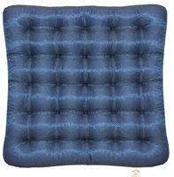 "Подушка на стул ""Ecology"" (40х40 см; тёмно-синяя)"