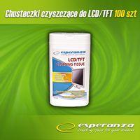Чистящие влажные салфетки Esperanza для LCD/TFT мониторов (100 шт.)