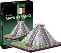 """Сборная модель из картона """"Пирамиды племени Майя"""" (Мексика)"""