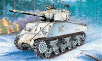 """Средний танк """"M4A3 76 mm Sherman"""" (масштаб: 1/35)"""