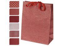 Пакет бумажный подарочный (в ассортименте; 18х23х8; арт. A59100420)