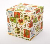 "Подарочная коробка ""Christmas Mugs"" (11х11х11 см)"