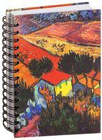 "Скетчбук ""Ван Гог. Пейзаж с домом и пахарем"" (А5)"