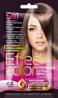 """Крем-краска для волос """"Effect Сolor"""" (тон: 4.0, каштан)"""