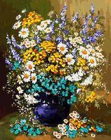 """Картина по номерам """"Букет полевых цветов"""" (400х500 мм)"""