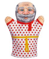 "Мягкая игрушка на руку ""Дедушка"" (32 см)"