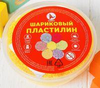 Пластилин шариковый (желтый; арт. Р1230)