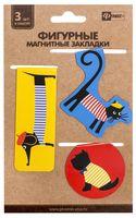 """Набор магнитных закладок """"Милые животные"""" (3 шт.)"""