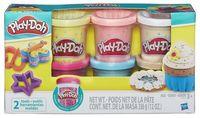 """Пластилин """"Play-Doh. 6 баночек с конфетти"""""""