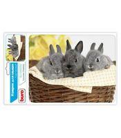 Коврик для мыши Buro BU-M40092 (рисунок/кролики)