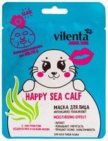 """Тканевая маска для лица """"Happy Sea Calf. Увлажняющая"""" (36 г)"""