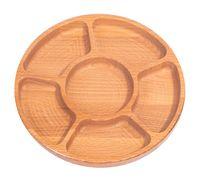 Менажница деревянная (240 мм; арт. м.010.24.б.н)