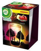 """Ароматизированная свеча """"Переливы цвета. Райское яблоко"""" (152 г)"""