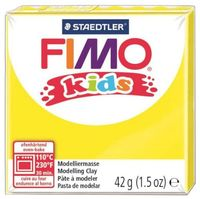 """Глина полимерная """"FIMO Kids"""" (желтый; 42 г)"""
