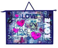"""Папка для рисунков А3 """"Love граффити"""""""