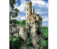 """Картина по номерам """"Замок на скале"""""""