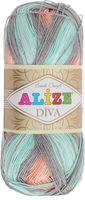 ALIZE. Diva Batik Design №5550 (100 г; 350 м)