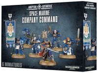 Warhammer 40.000. Space Marines. Company Command (48-51)