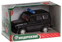 """Модель машины """"УАЗ. Полиция"""" (масштаб: 1/24)"""