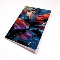 """Блокнот белый """"Супермен"""" А6 (408)"""