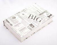 "Подарочная коробка ""Newspapers"" (18х23,5х3,5 см)"