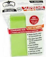 """Протекторы """"Supreme Matte"""" (66х91 мм; 80 шт; салатовые)"""