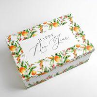 """Подарочная коробка """"Новогодний лес"""""""