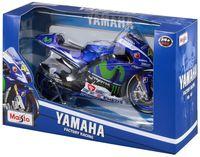"Модель мотоцикла ""Yamaha Movistar 2015"" (масштаб: 1/10)"
