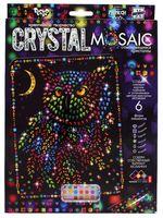 "Аппликация из страз ""Crystal Mosaic. Сова"""