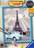 "Картина по номерам ""Paris"" (240х300 мм)"