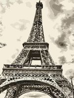 """Картина по номерам """"В Париже"""" (400х500 мм)"""