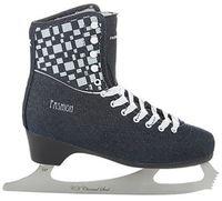 """Коньки фигурные """"Fashion Lux Jeans"""" (р. 39; синие)"""