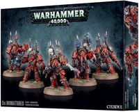 "Набор миниатюр ""Warhammer 40.000. Chaos Space Marines Terminators"" (43-19)"