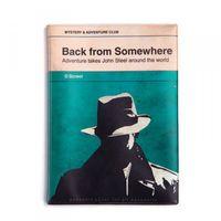 """Чехол для паспорта """"A Novel"""" (детектив)"""