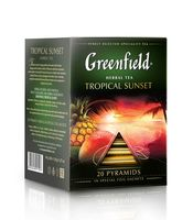 "Чай черный ""Greenfield. Tropical Sunset"" (20 пакетиков)"