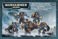 Warhammer 40.000. Space Wolves. Wolf Guard Terminators (53-07)