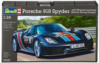 """Сборная модель """"Автомобиль Porsche 918 Spyder """"Weissach Package"""" (масштаб: 1/24)"""